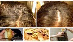 Receta extremadamente eficiente, Este enjuague de patata le puede ahorrar toneladas de dinero en Tinte para su cabello.