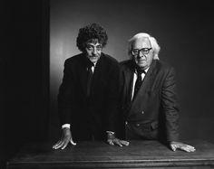 Kurt Vonnegut and Ray Bradbury, photograph by Yousuf Karsh - Imgur
