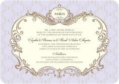 Wedding Invitations Lavishly Elegant