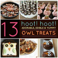 13 Adorable, Edible Owl Treats