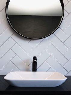 Basins, Shower Systems, Bathroom Designs, White Bathroom, Matte Black, Chrome, Contemporary, Mirror, Mirrors