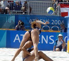 nude beach volleyball