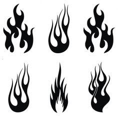 fire stencils - Google Search