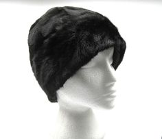 new luxury real natural mink fur hat beanie style 57cm - 59cm