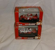 Lot of 2 Nascar Winners Circle Kasey Kahne #9 Cars Scale 1:87 2007 2008 Dodge