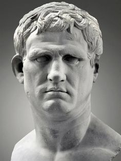 Marcus Vipsanius Agrippa (63 BC-12 BC) - lived during a time of great Roman Generals as Julius Caesar and Pompey. Ancient Rome, Ancient Greece, Ancient History, Ancient Aliens, Rome Antique, Art Antique, Roman History, Art History, European History