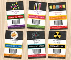 Academic Tattoos Apply Your Education With Temporary Tattoos - Mad scientist name tag template