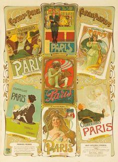 Cigarrillos Paris. 1900