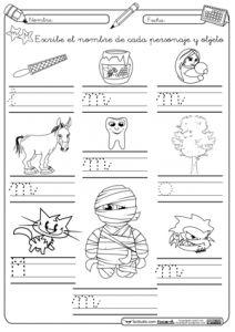 Escritura-M-Montessori