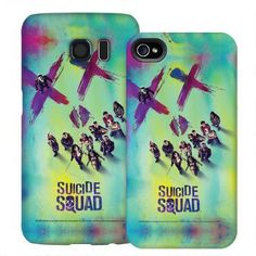 Suicide Squad Theatrical Poster Phone Case for iPhone and Galaxy |