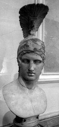 Bust of Ares - based on the original by Alkamenes circa 420's B.C.