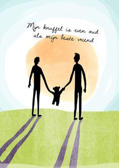 """""""Mijn knuffel is even oud als mijn beste vriend"""" Quote 81! www.jufmagikkunstmaken.nl"""