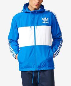 6f10246acc3 adidas Originals Men s Clfn Windbreaker Jacket Adidas Jacket Windbreaker