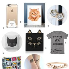 Just love the cat watches! - The Cat Lover numbers | StyleTails