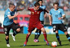 LA PREVIA: Uruguay vs Venezuela se miden por las Eliminatorias a Rusia 2018