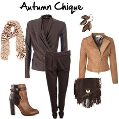 """Autumn Chique"" by ayla-kroet on Polyvore"