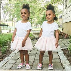 Easy to smile when you're wearing a pretty pink dress  #pink #springstyle #identicaltwins #miniroyalz #biracialbabies #biracial #puffs #afrostyle #twins #sisters #springfashion #fashionkids #fashion #fashionkids_worldwide #fashionkidsworld #mixedkids #mixedbabies #adorable #instafashion #instatoddler #cutetoddler #cutest_kiddies #black_beautifulclassy #mb_feature #mixedbabiesig #blackmomsblog #beautifulmixedkids #beauties_selfie #smiles #babymodel