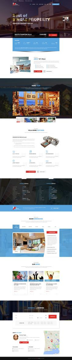 Villa - Single Property PSD Template - Download: http://themeforest.net/item/villa-single-property-psd-template/15101187?ref=sinzo #PSD #Templates