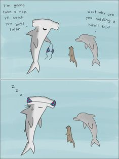 Funny Light-Hearted Animal ComicsYou can find Funny cartoons and more on our website. Funny Animal Comics, Animal Jokes, Cute Comics, Funny Comics, Funny Animals, Cute Animals, Funny Cute, Funny Jokes, Marine Biology