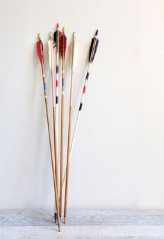 Vintage Wooden Arrow via ethanollie on Etsy, 15.00