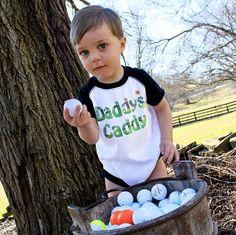 Funny Boy Romper Golf Romper Black Raglan Sleeve Boy by MumsyGoose, $17.95