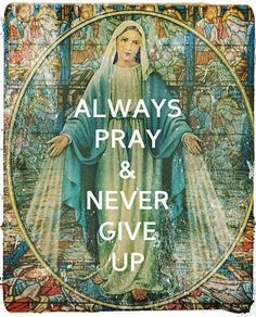 Pray to our Blessed Mother, Queen of Heaven and Earth. She will help you and intercede for you to our dear Lord. Catholic Quotes, Catholic Prayers, Catholic Saints, Roman Catholic, Catholic Beliefs, Catholic Bishops, Holy Mary, Blessed Mother Mary, Blessed Virgin Mary