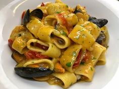 Pesto Pasta, Rice Pasta, Pasta Salad, Polenta, Good Food, Yummy Food, Risotto, Italian Pasta, Spaghetti