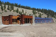 Earthship - Big Sky, Montana - like the look of this one most from all the ones I've seen