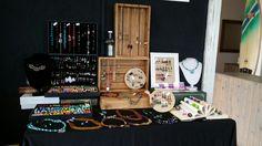 #ristianabijoux #craftfair #oceanlodge #vintage #display #jewelry #ristiana