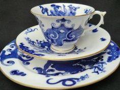 Royal Worcester, Blue Dragon ~ pretty