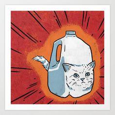 2% Kitty Art Print by Alex DeSpain - $14.56