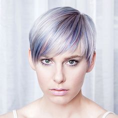Lavender hair color from Lisa Power Salon, Seattle. Lavender Hair Colors, Great Hair, Seattle, Salons, Lisa, Paintings, Photos, Lounges, Pictures