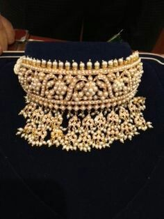 Hyderabadi choker...so stunning