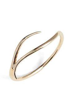 Silver Color BORNjewelry Pretty Smooth Open Cuff Bangles
