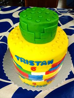 Swoon For Food: Lego Birthday Party with Lego Themed Cake, Games and More