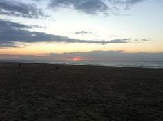 Zonsondergang 11 oktober 2014
