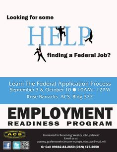 Employment Readiness Program, Rose Barracks