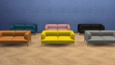 Bjørn Sofa 2 Seaters (Pay) at Meinkatz Creations via Sims 4 Updates Check more at http://sims4updates.net/furniture/bjorn-sofa-2-seaters-pay-at-meinkatz-creations/