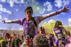 We are Open, We 're AIESEC!