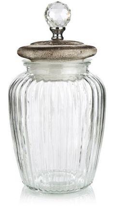 no - Krukke glass m/lokk cm Madame