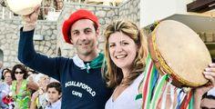 Emily & Salvatore Capri Moments, Matrimonio a Capri, Wedding Planner, Capri, Sposarsi a Capri #folkloristicband #tarantella