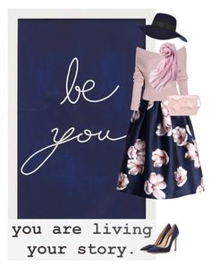 """""""Be you!"""" by katerinag ❤ liked on Polyvore featuring Pottery Barn, Urban Outfitters, River Island, Gianvito Rossi, Chicwish, Prada and Uniqlo"""