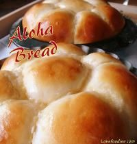 Sweet, soft, yummy - everything you want in a bread roll - ALOHA BREAD I Love Food, Good Food, Yummy Food, Tortillas, Bread Recipes, Cooking Recipes, Def Not, Comfort Food, Snacks