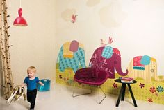 Detské tapety na stenu Kidzzz   Ambiente Bratislava Little Boys Rooms, Big Girl Rooms, Boy Room, Kids Wallpaper, Fabric Wallpaper, Bratislava, Kids Bedroom, Playroom, Baby Kids