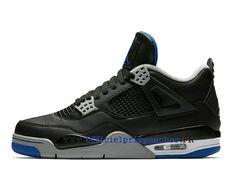 promo code 4be6c 822c6 Nouveau Air Jordan 4 Retro (IV)   2017 Knicks Chaussures Pour Homme Game  Noir