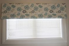 Roman Blinds are a fantastic choice for small windows