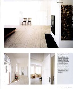 Fancy THOSE FLOORS gorgeous bleached white oiled pine floor