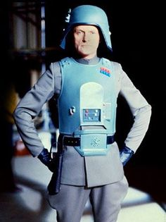 Julian Glover in his General Veers costume posing for an archival reference picture.
