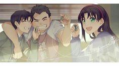 older Ayumi Mitzuhiko and Genta  detective conan