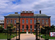 Kensington Palace, birthplace of Queen Victoria  (Captions by Ashley Hedges)